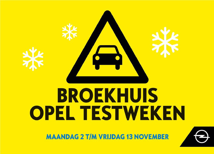 Broekhuis Opel Testweken Harderwijk en Ermelo