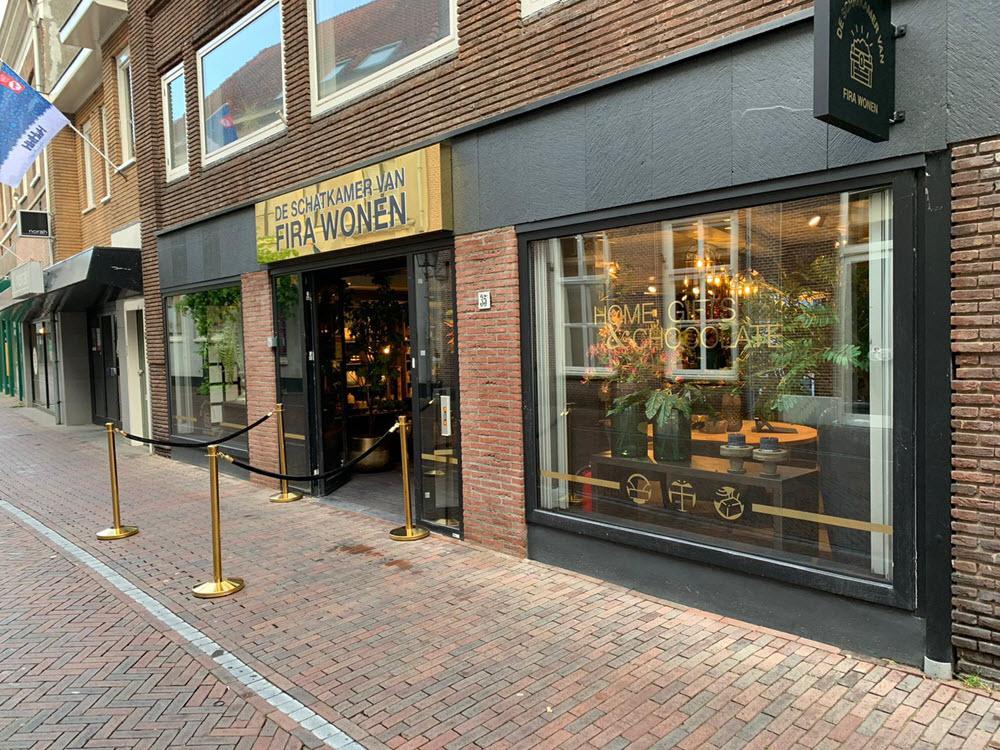 FIRA WONEN woonwinkel Donkerstraat Harderwijk