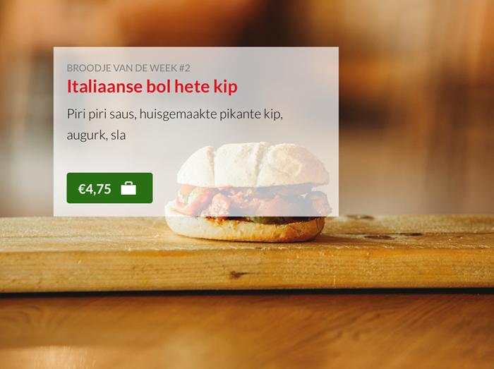 Italiaanse bol hete kip Kok Experience