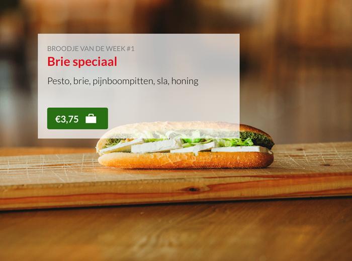 Broodje Brie speciaal Kok Experience Harderwijk