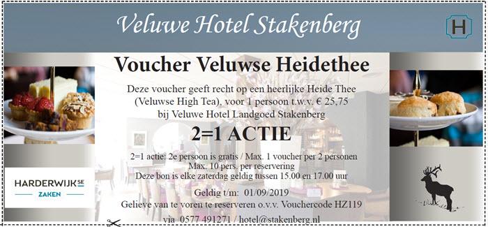 Veluwse Heidethee Veluwe Hotel Stakenberg Elspeet