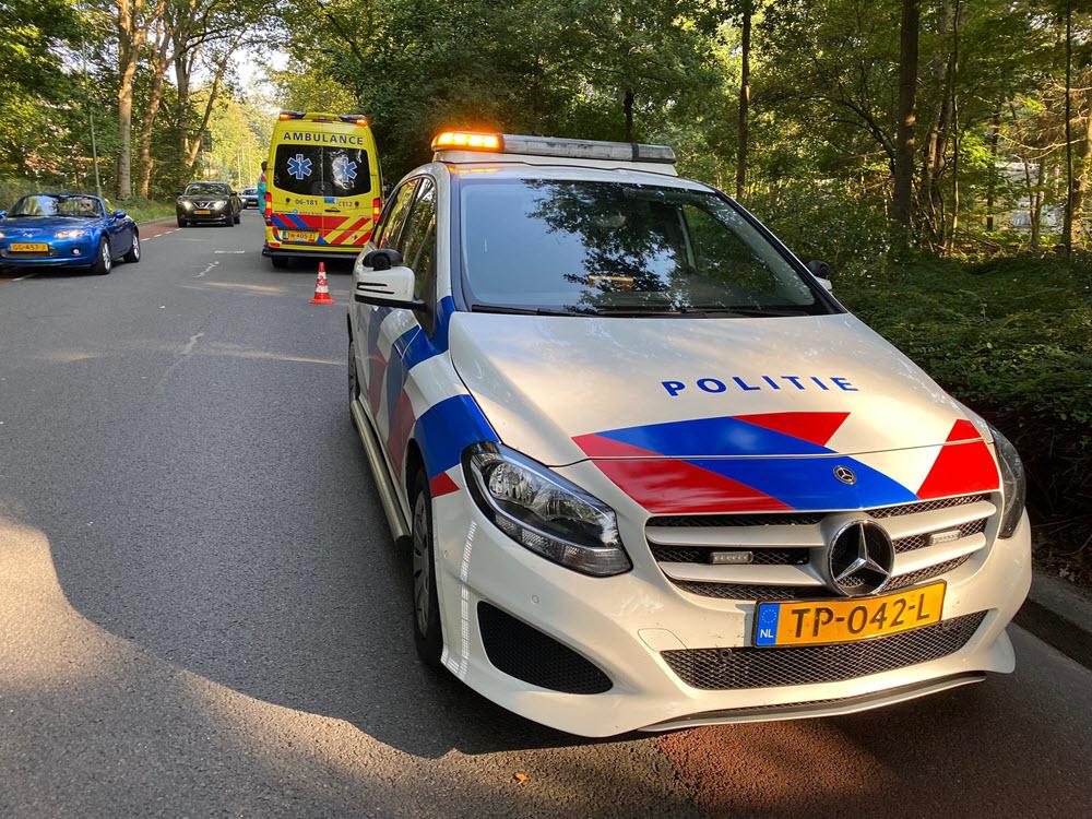 Ongeval met fietser en auto Horsterweg