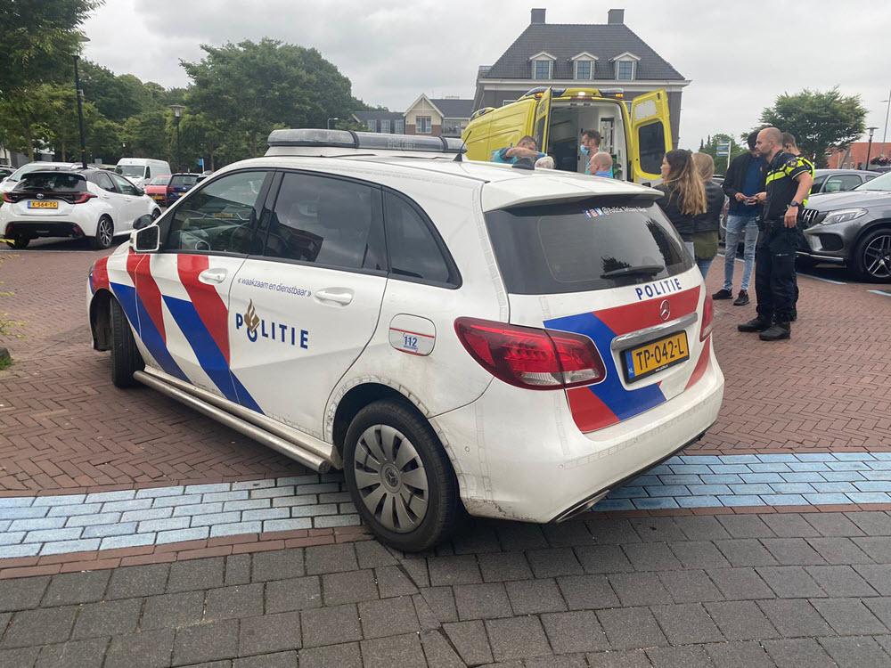 Ongeval met fietser parkeerplaats Albert Heijn Ermelo