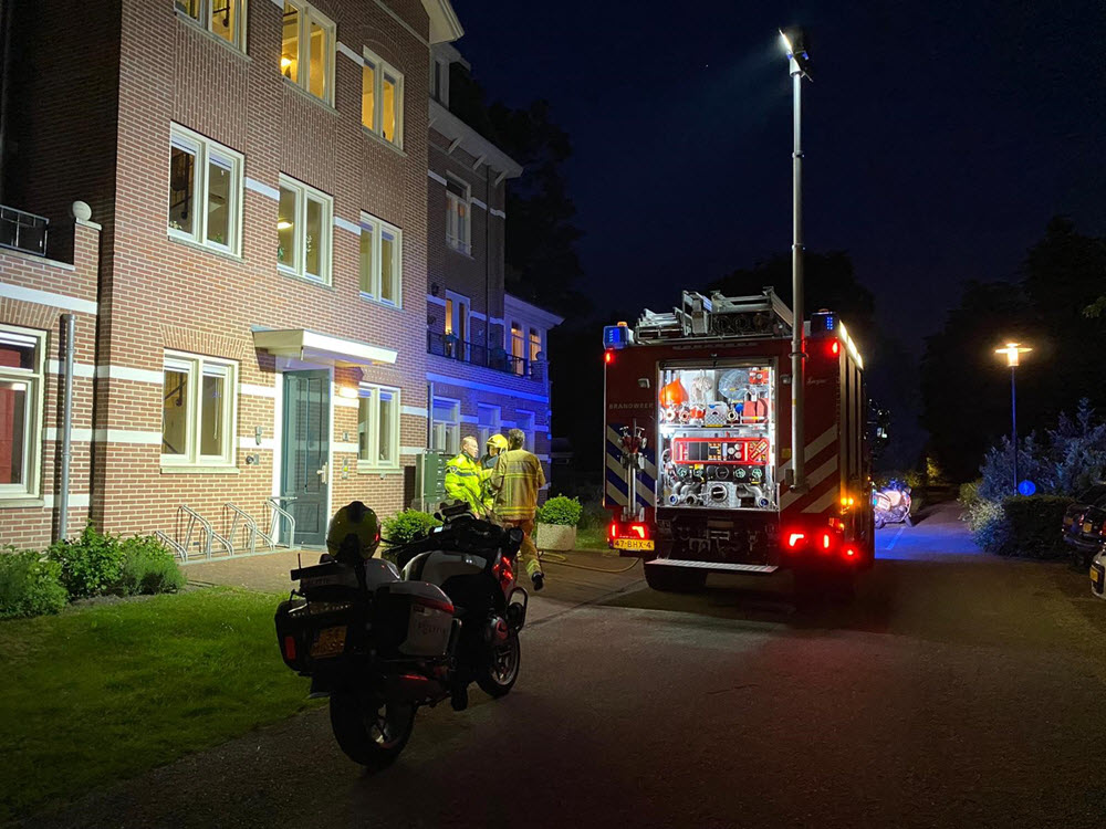 Woningbrand Veldwijk Ermelo
