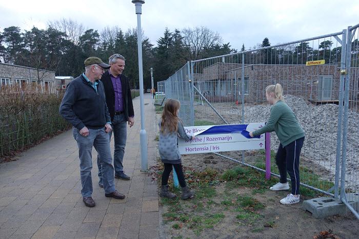 Onthulling de Bloementuin op Sonnevanck Harderwijk
