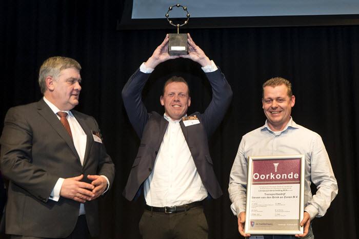 Transportbedrijf van den Brink ontvangt Linneausprijs 2018