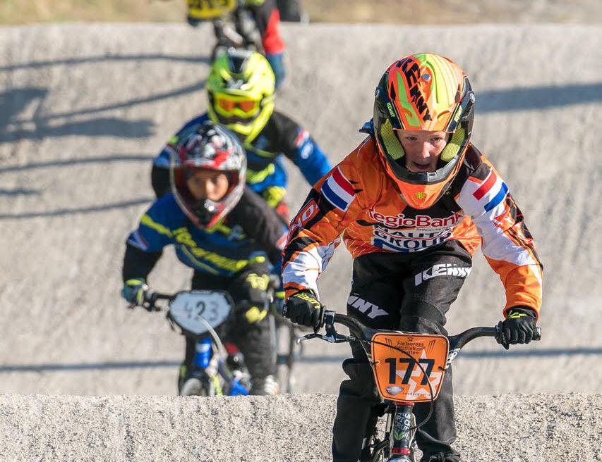 BMX foto van Jan de Roo