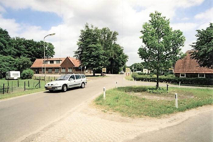 Kruispunt Telgterweg met Zeeweg en Rode Schuurderwegje Ermelo