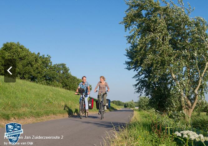 LF Zuiderzeeroute fietsroute