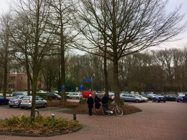 Markt Ermelo parkeerplaats