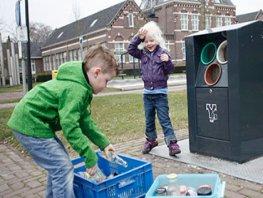 Milieucontainers en afvalbakken tijdelijk afgesloten