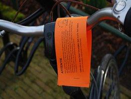 Staat jouw fiets al lang op het station?