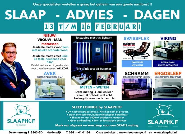 Slaap Advies Dagen bij Slaaphof Harderwijk