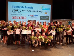 Winnaars Sportverkiezing 2018 gehuldigd op Sportgala in Ermelo