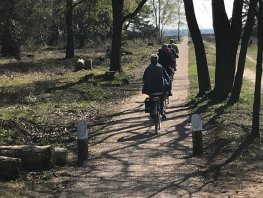 Heropening fietspad Speulderveld