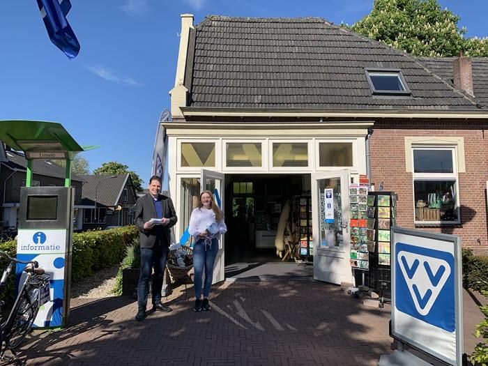 Toeristische gids Ermelo 2019/2020 bij VVV Ermelo