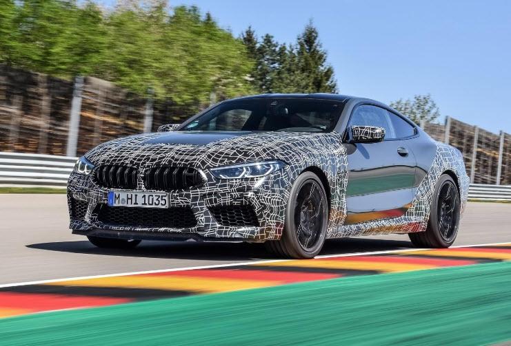 Nieuwe BMW M8 Coupé en Competition