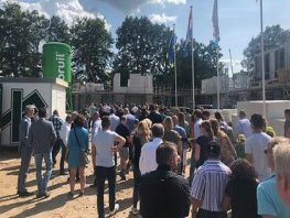 Wethouder Klappe opent woningbouwproject 'De Driesprong'