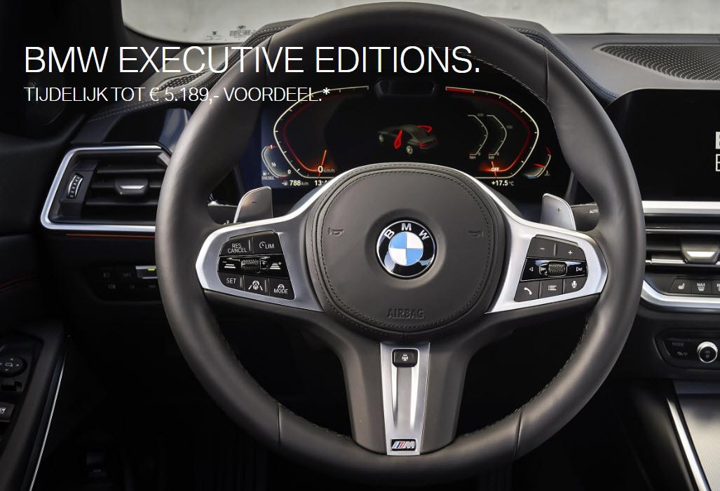 BMW Executive Editions, tijdelijk tot € 5.189,00 voordeel*
