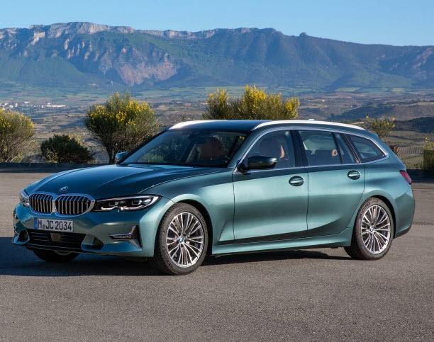 De nieuwe BMW 3 serie Touring