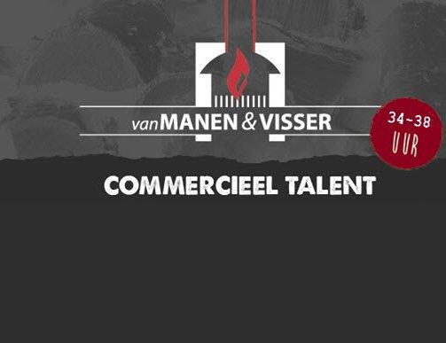 Commercieel talent gezocht