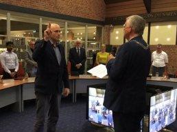 Gert Jan Brouwer beëdigd tot fractievertegenwoordiger van VVD Ermelo