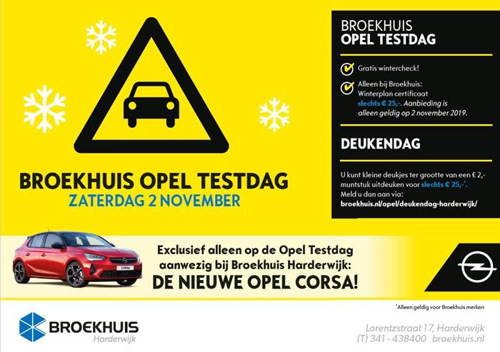 Broekhuis Opel Testdag