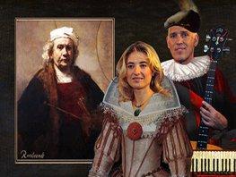 Hans Visser & Irena Filippova met 'Rembrandt De Gouden Eeuw'