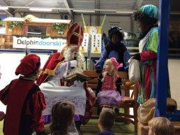 Sinterklaasfeest bij Delphindoorski in Ermelo