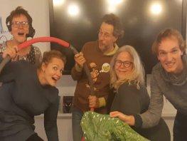 Theatergroep Spiegel speelt 'SINT TUSSEN DE STERREN'