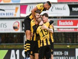 Inzet DVS'33 Ermelo beloond tegen Almeerse beloften (wedstrijdverslag)