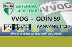 Voetbalwedstrijd VVOG - Odin 59