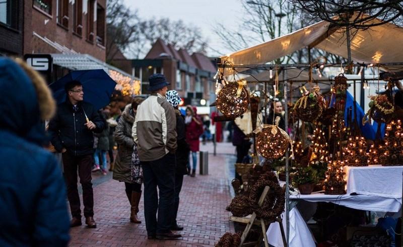 Sfeer en gezelligheid op Veluwse Kerstmarkt