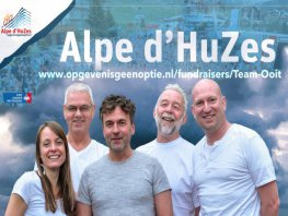 Ermelose Team Ooit gaat naar Alpe d'Huez