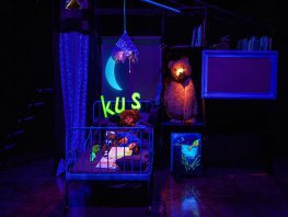 Figurentheater Ennadien met 'Kus gezocht' 4+