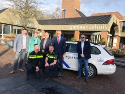 Politie en Stichting Collectieve Bedrijventerreinen Ermelo tekenen convenant met Securitas