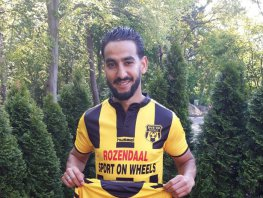 Abderrahim Loukili maakt overstap naar DVS'33 Ermelo