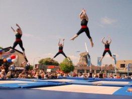 Buiten sporten bij G.V. Sparta Ermelo