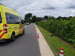 Auto doorgereden na ongeluk in Ermelo