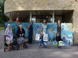 Onthulling kunstwerken Kroondomein Ermelo