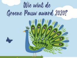 Vijf genomineerden voor de Groene Pauw Award 2020
