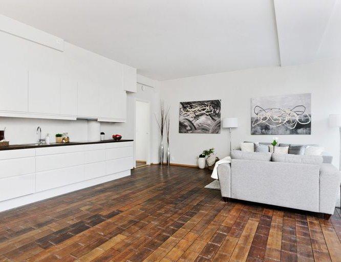 Deze vloer is uniek,  volledig onderhoudsvrij!