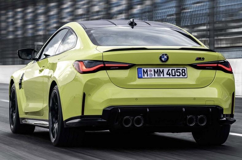 Ekris: BMW M4 Bloedsnel van A naar B