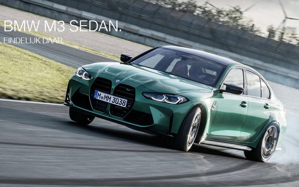 Ekris: BMW M3 Sedan