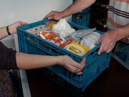Inzamelingsactie voor de voedselbank week 43