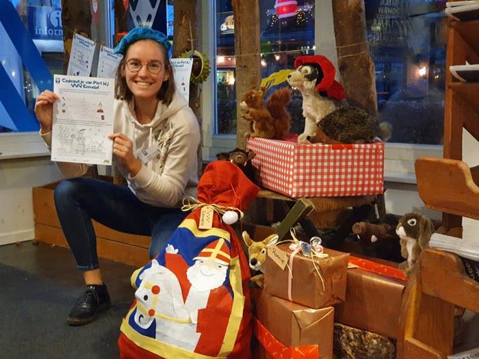 Puzzel en kleur mee en krijg een cadeautje bij de VVV in Ermelo!