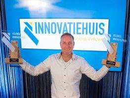 Textline uit Harderwijk wint Veluwse Innovatieprijs met circulaire verkeersborden
