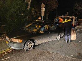Automobilist aangehouden met volledig kapotgereden banden in Ermelo