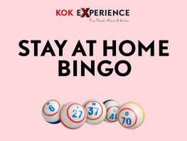 De Kok Experience Stay at Home Online Bingo