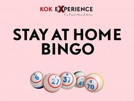 De Kok Experience Stay at Home Online Bingo